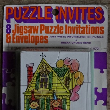 Jigsaw puzzle invitations