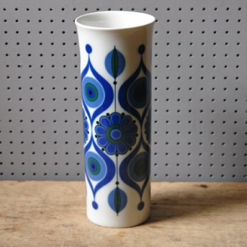 Vintage Kaiser porcelain West German vase | H is for Home