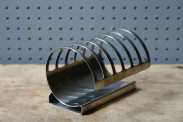 Vintage stainless steel Nutbrown toast rack | H is for Home