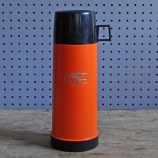 Orange & black Thermos flask