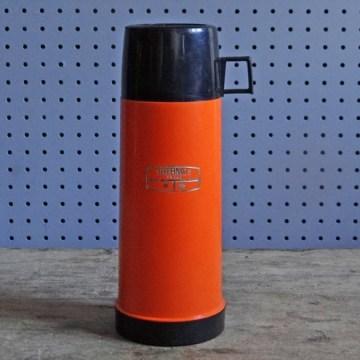 Orange & black Thermos flask