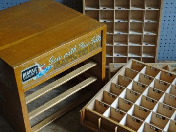 Perivale sewing silks storage box