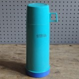 Sky blue Thermos flask