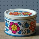 Small vintage sweet tin