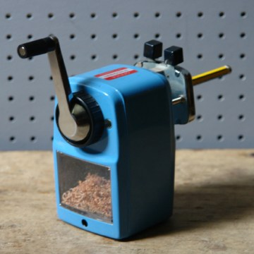 Vintage Toyo rotary pencil sharpener | H is for Home