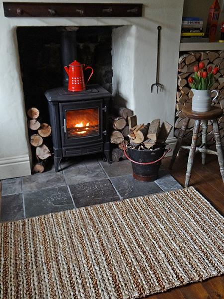 Fireside vignette