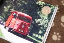 vintage Citroen H fire engine