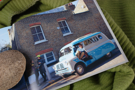 page in My Cool Campervan featuring a Bedford CA named Cuthbert