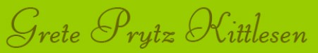 'Grete Prytz Kittelsen' blog post banner