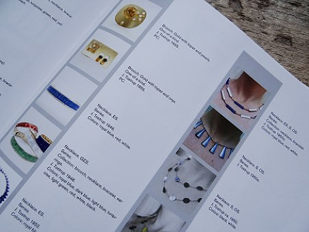 Grete Prytz Kittelsen jewellery catalogue