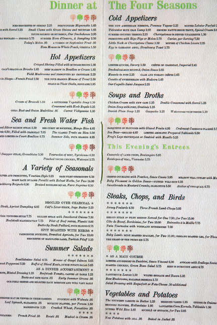 page from Menu Design in America'