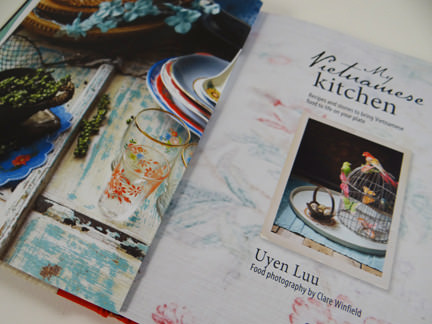 """title page of """"My Vietnamese Kitchen"""" cookery book"""