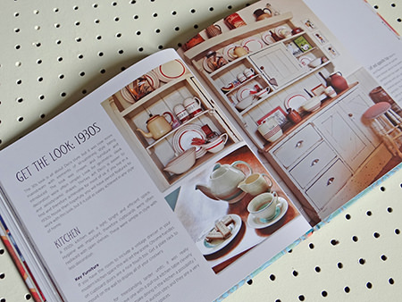'Style Me Vintage' '1930s' chapter page | H is for Home