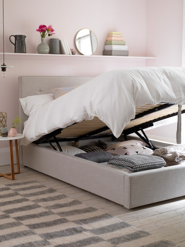 Poppy storage bed base from Button & Sprung