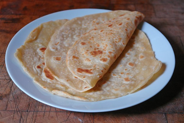 Home-made flatbread | H is for Home