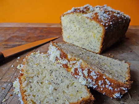 lemon & poppy seed loaf | H is for Home