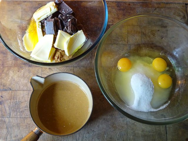 Peanut brownies mixtures | H is for Home