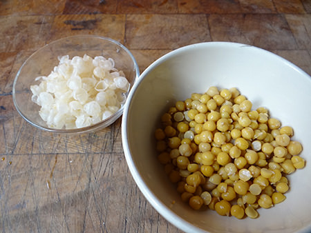 husked chickpeas | H is for Home