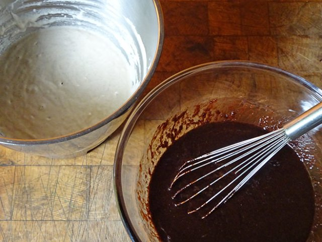 Sourdough and coffee chocolate cake mixtures | H is for Home