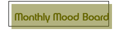 Monthly Mood Board blog category banner