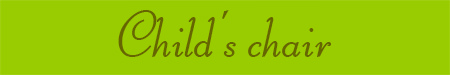 'Child's chair' blog post banner