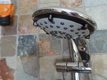 Ecocamel Jetstorm Plus shower head, turned off | H is for Home
