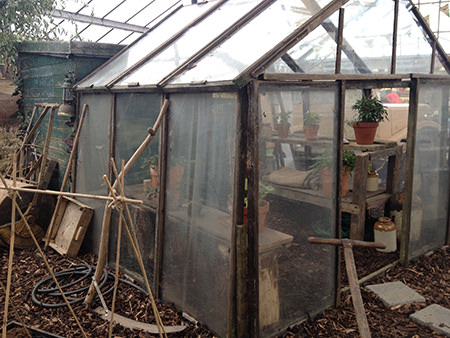 part of the Gordon Rigg garden centre's 70th anniversary allotment installation