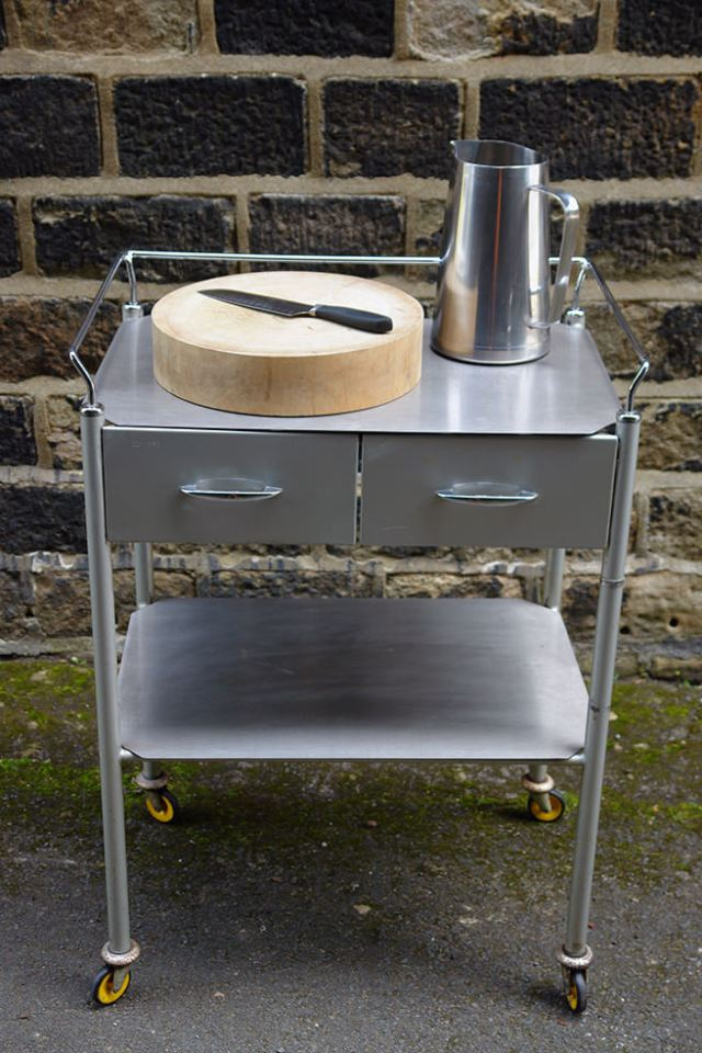 Vintage hospital trolley | H is for Home