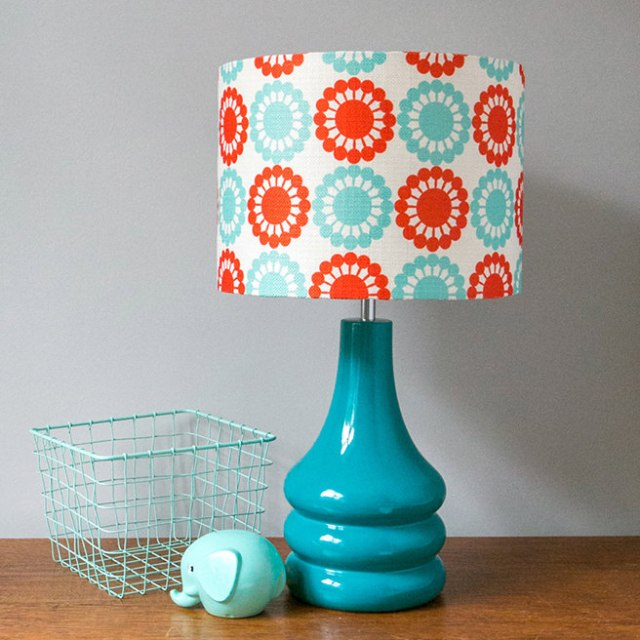 Blue lamp available at Hunkydory Home
