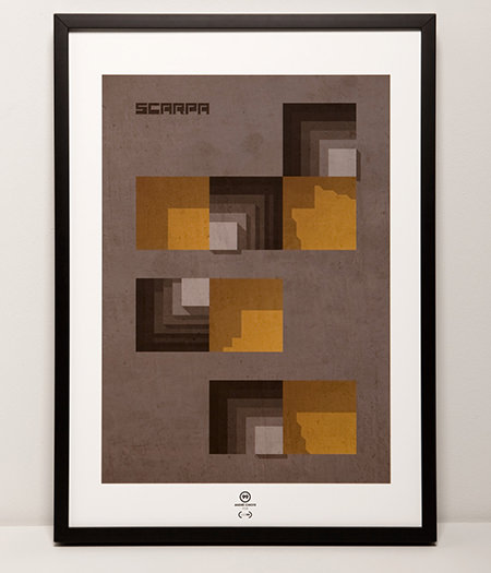 Just99 limited-edition print: 'Tribute to Carlo Scarpa'