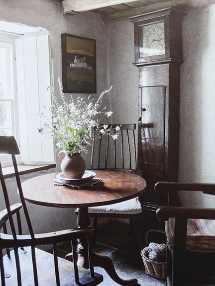 'Grandfather clock in Country Living magazine June 2014