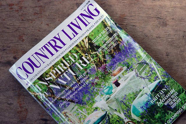 Cover of the May 2016 edition of Country Living magazine