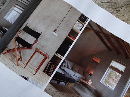 seating in 'Simply Beautiful' article from the February 2014 edition of Elle Decoration magazine