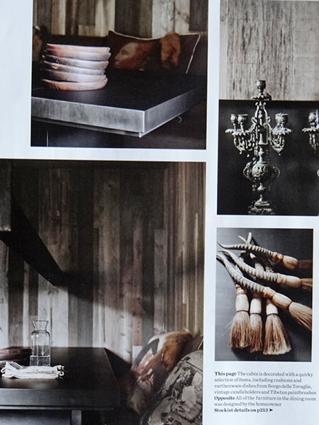 'Ski-lodge Luxe' decorative pieces