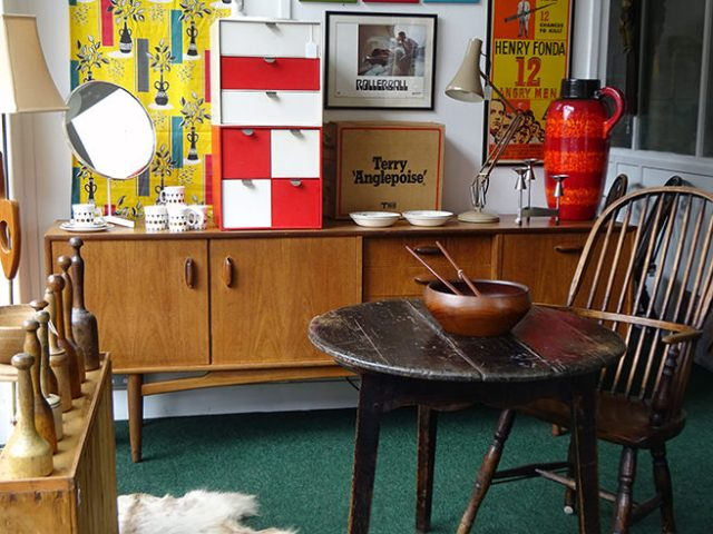 Our Picturehouse Antiques shop space | H is for Home