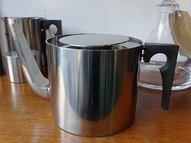 Vintage Stelton stainless steel tea set | H is for Home