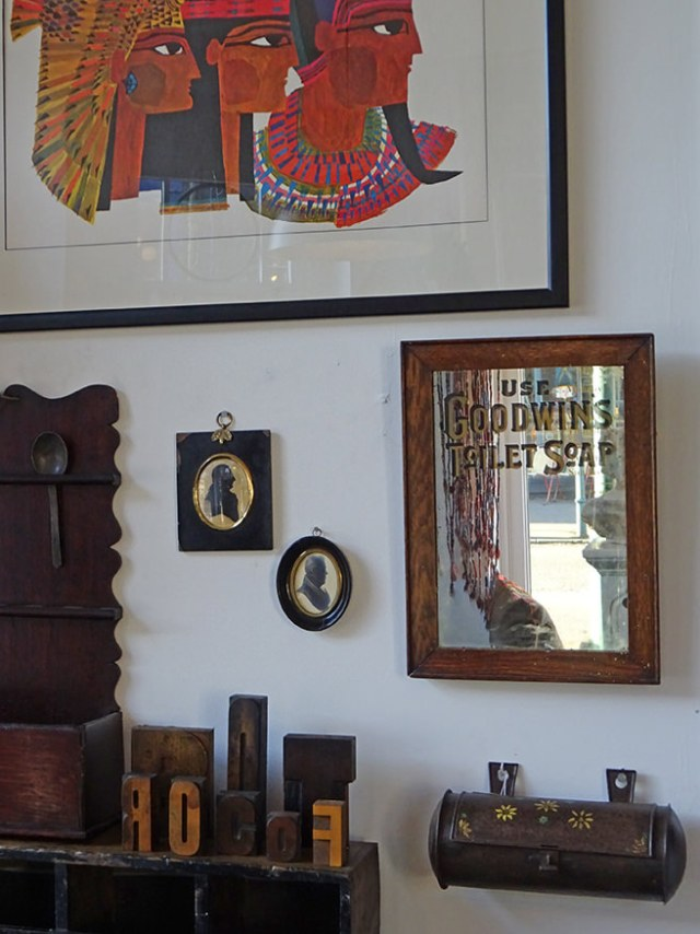 Corner of our 2nd Picturehouse Antiques space | H is for Home