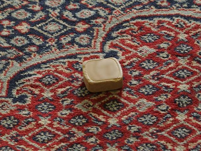 Soap on an Afghan rug