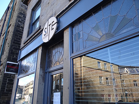 shop-front of Site Pizzeria in Todmorden