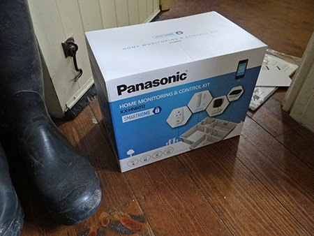 Boxed Panasonic Smart Home box
