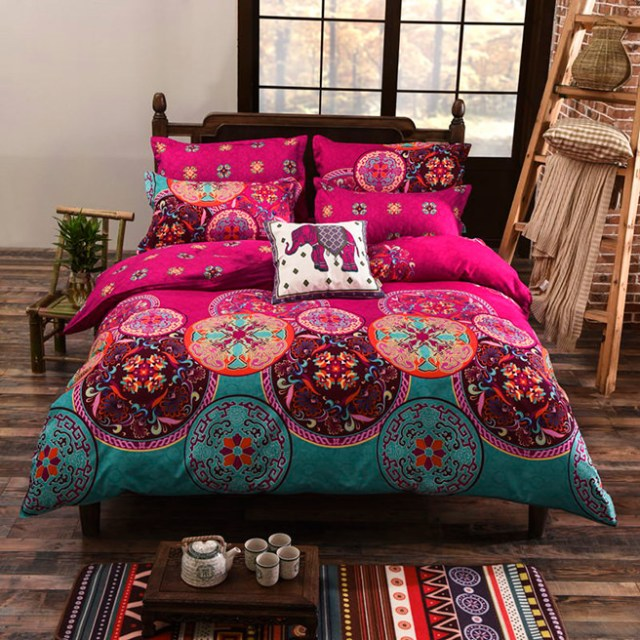 Exotic duvet set available from Vaulia