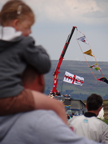Yates flag at the Tour de Yorkshire in Cragg Vale