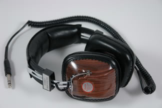 Vintage 1970s stereo headphones | H is for Home