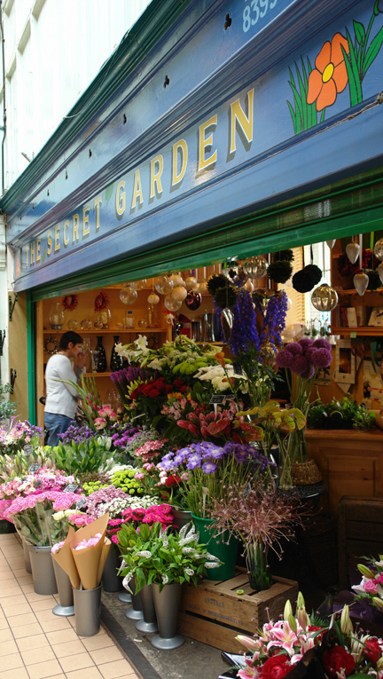 Florist on Todmorden Indoor Market | H is for Home
