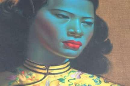 vintage Vladimir Tretchikoff 'Chinese Lady' print