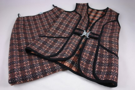 Vintage Welsh wool skirt & waistcoat suit | H is for Home