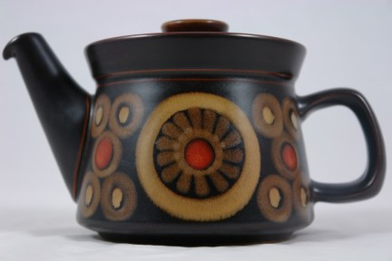 Denby Arabesque design tea pot