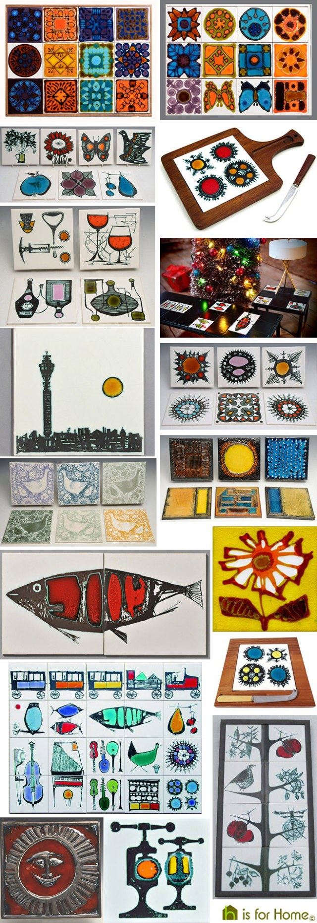 Collage of Ann Wynn-Reeves ceramic works | H is for Home