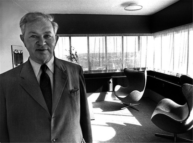 Arne Jacobsen portrait