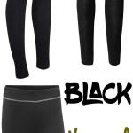 Price Points: Black thermal leggings